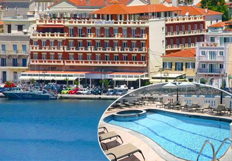 Цяло лято на о. Самос, Гърция! Нощувка със закуска + басейн с шезлонг и чадър от хотел Samos. Дете до 12г. – БЕЗПЛАТНО!
