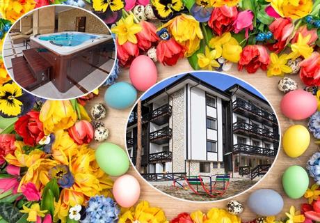 Великден на брега на язовир Батак! 2, 3 или 4 нощувки със закуски + Великденски обяд за ДВАМА от семеен хотел СПА Хебър