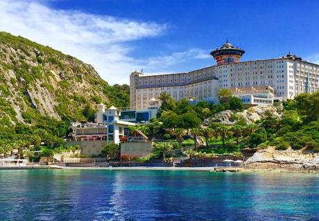 Гергьовден в Кушадасъ, Турция! 7 All Inclusive нощувки в хотел Alkoclar Adakule***** Дете до 13г. - БЕЗПЛАТНО
