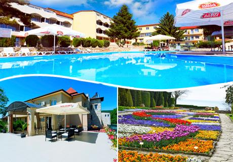 Цяло лято в Балчик на СУПЕР ЦЕНИ! 5 или 7 нощувки със закуски и вечери + басейн в хотел Наслада***