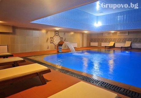 През Май НОВ СПА център и басейн с МИНЕРАЛНА вода + нощувка, закуска, вечеря и бонус тангенторна вана в Гранд хотел Казанлък***