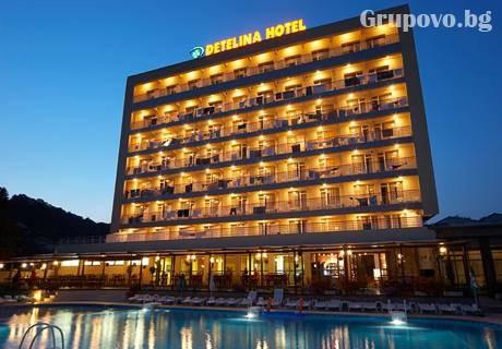 28.04 - 31.05: Нощувка със закуска + басейн в хотел Детелина***, Златни Пясъци. Дете до 12г. - БЕЗПЛАТНО!
