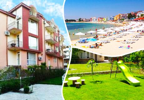 Цяло лято в Равда на 200 м. от плажа на цени от 11.90 лв. в хотел Айсберг, Равда
