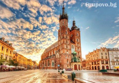 Екскурзия до Полша, Словакия и Унгария! Транспорт, 6 нощувки със закуски и туристическа програма в Банска Бистрица, Краков, Аушвиц, Варшава, Ченстохова, Будапеща