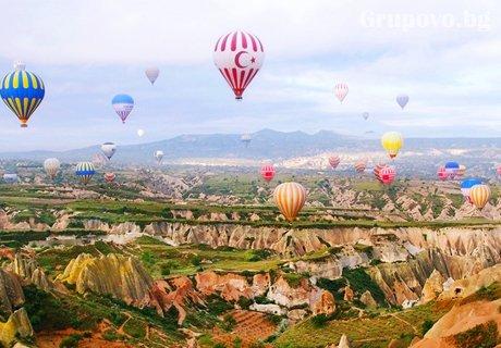 За Гергьовден: екскурзия до Кападокия, Анaдола, Анкара и Истанбул. Транспорт, 4 нощувки, 4 закуски и 3 вечери от Караджъ Турс