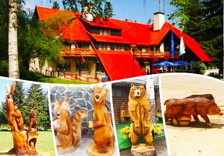 Фестивал на дърворезбата в к.к. Боровец на 18 и 19 Май! 2 нощувки със закуски или закуски и вечери в + релакс зона в хотел Бреза***