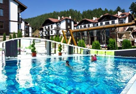 All Inclusive Light  + басейн с МИНЕРАЛНА вода и релакс пакет в хотел 3 Планини, Разлог до Банско