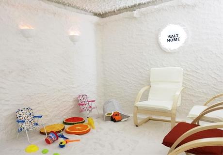 Една процедура в солна стая за дете или възрастен от Salt Home, София, Дружба