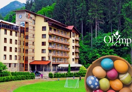 Великден в Тетевен! 2 или 3 нощувки със закуски и вечери, едната празнична + сауна и джакузи в хотел Олимп****