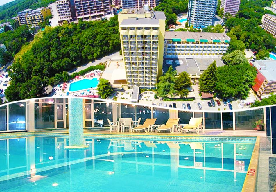 Нощувка на човек на база All inclusive + басейн и СПА  в хотел Шипка 4*, к.к. Златни Пясъци
