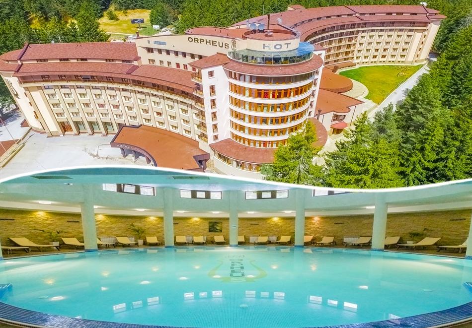 Майски празници в Пампорово. 2, 3 или 4 нощувки на човек със закуски и вечери + басейн и СПА в хотел Орфей****